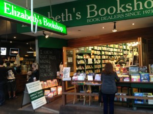 Elizabeth's Bookshop, King Street Newtown