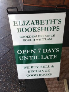 Bookdealers since Gough Whitlam !