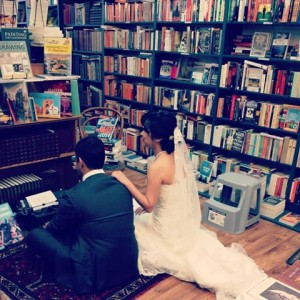 Weddings at Elizabeth's Bookshop